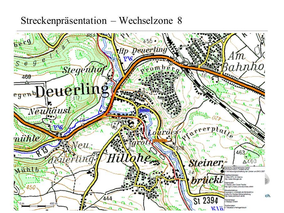 Streckenpräsentation – Wechselzone 8