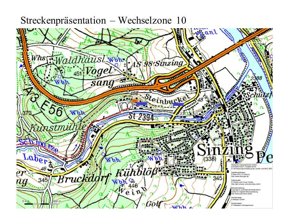 Streckenpräsentation – Wechselzone 10