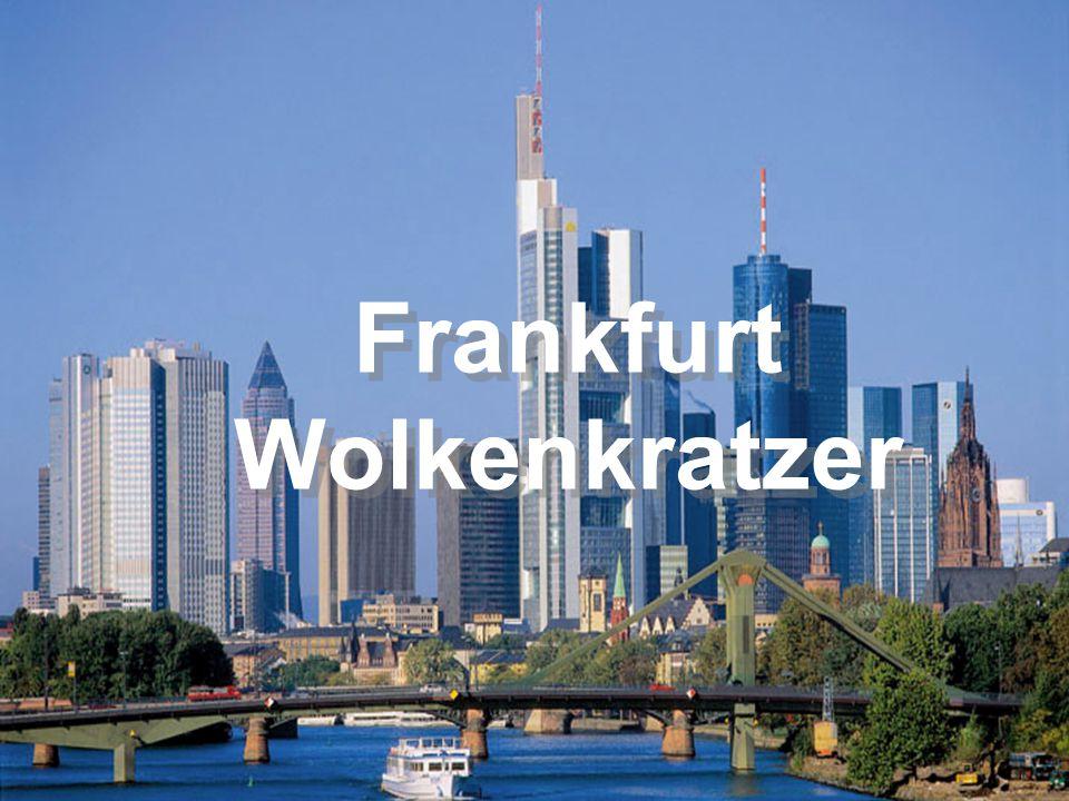 Frankfurt Wolkenkratzer