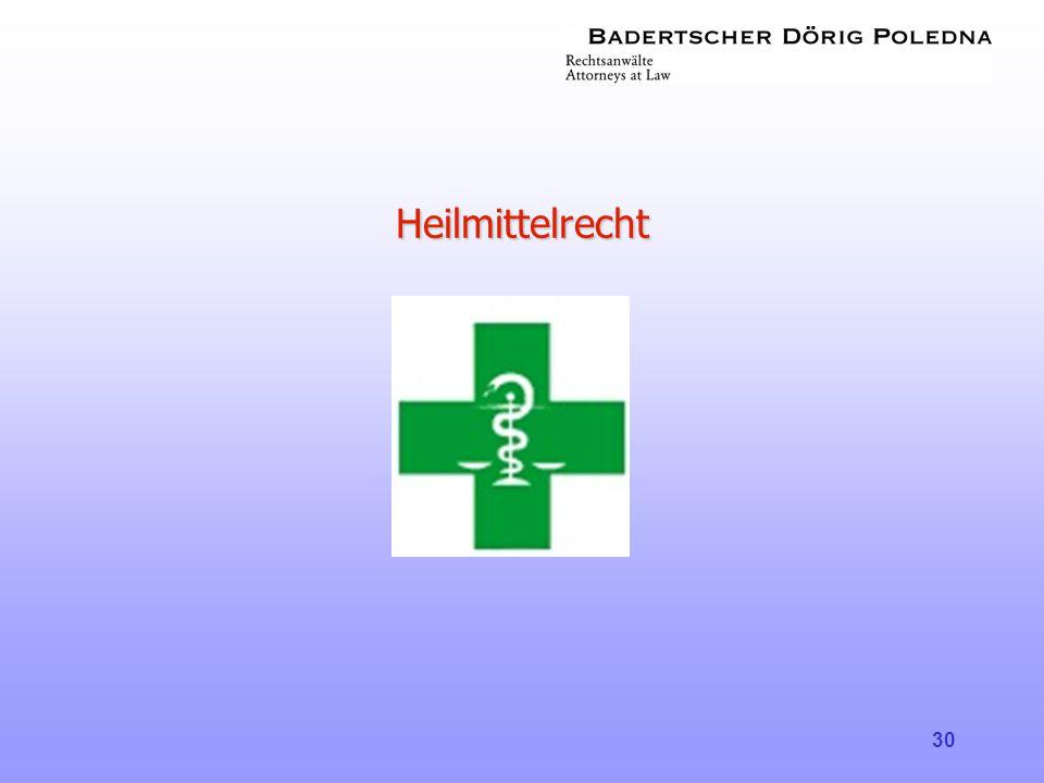 Heilmittelrecht