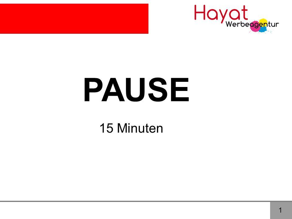 PAUSE 15 Minuten 1