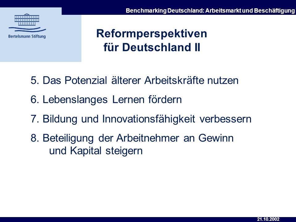Reformperspektiven für Deutschland II