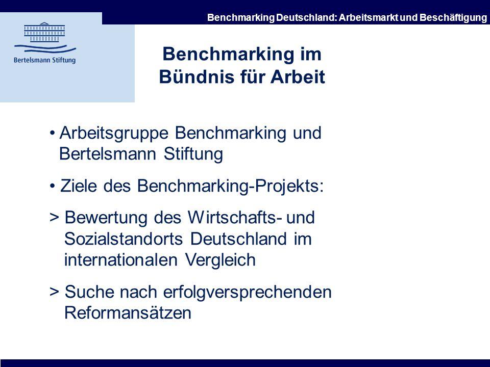 Benchmarking im Bündnis für Arbeit