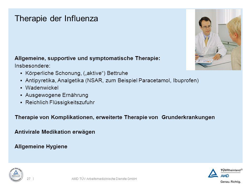 Therapie der Influenza