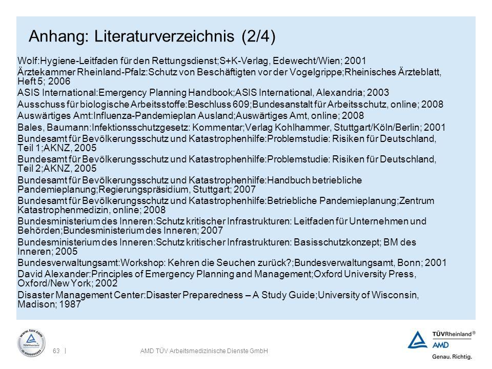 Anhang: Literaturverzeichnis (2/4)