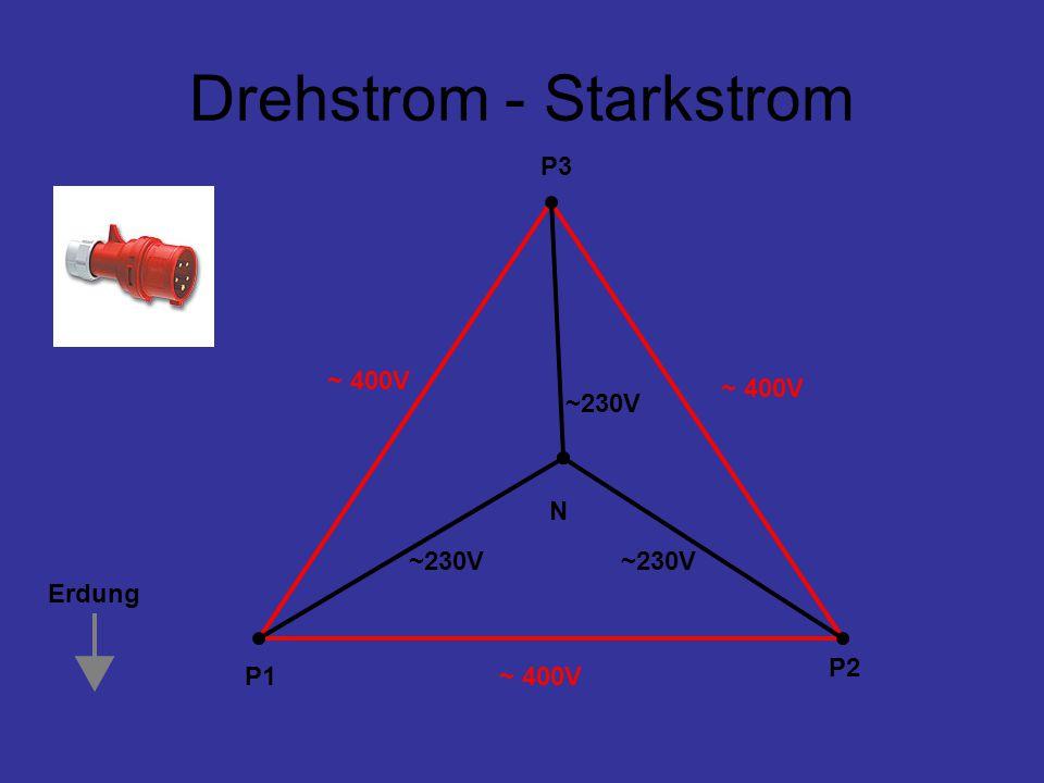 Drehstrom - Starkstrom
