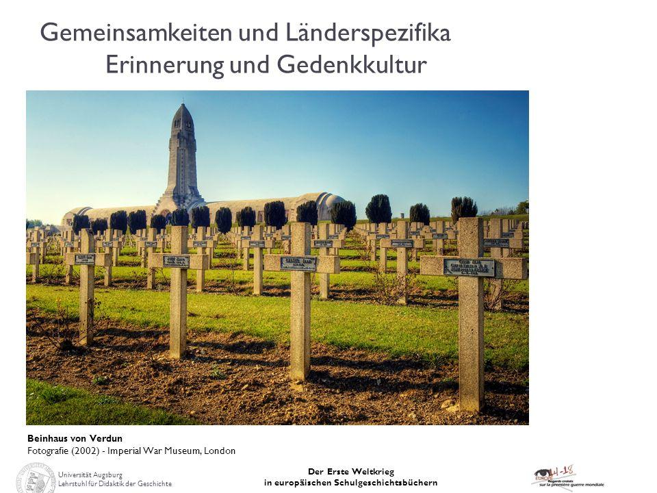 Gemeinsamkeiten und Länderspezifika Erinnerung und Gedenkkultur