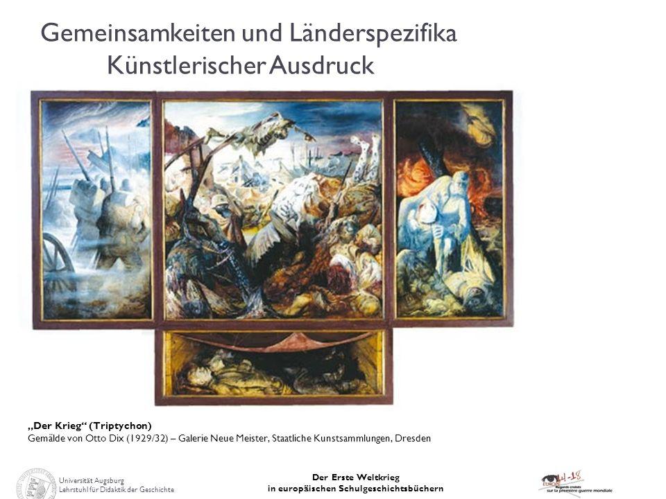 Gemeinsamkeiten und Länderspezifika Künstlerischer Ausdruck