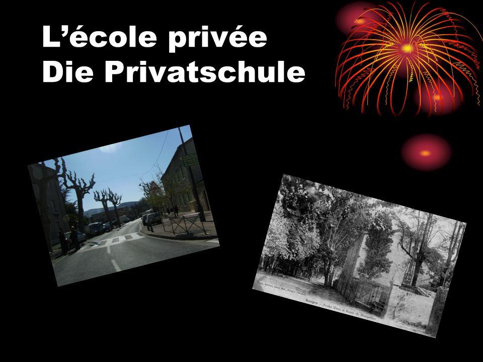L'école privée Die Privatschule