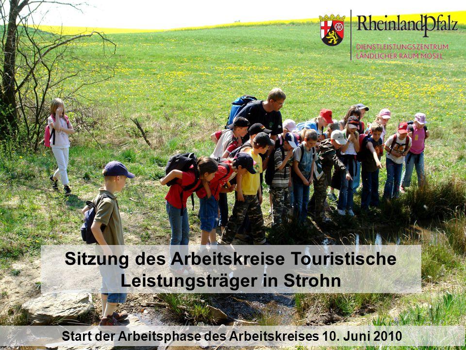 Sitzung des Arbeitskreise Touristische Leistungsträger in Strohn