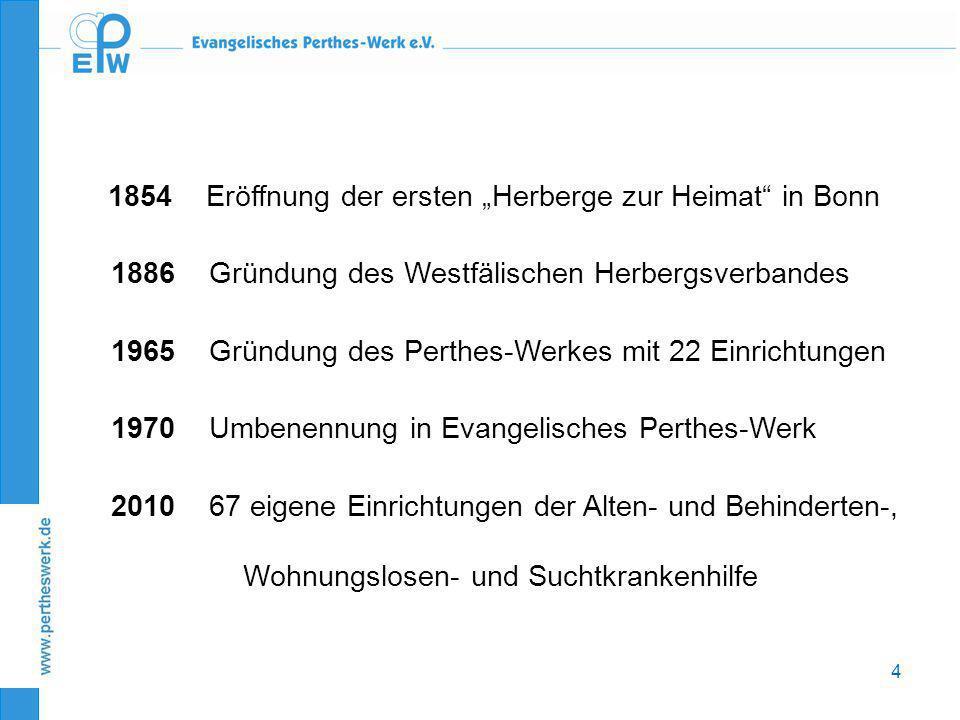 1886 Gründung des Westfälischen Herbergsverbandes