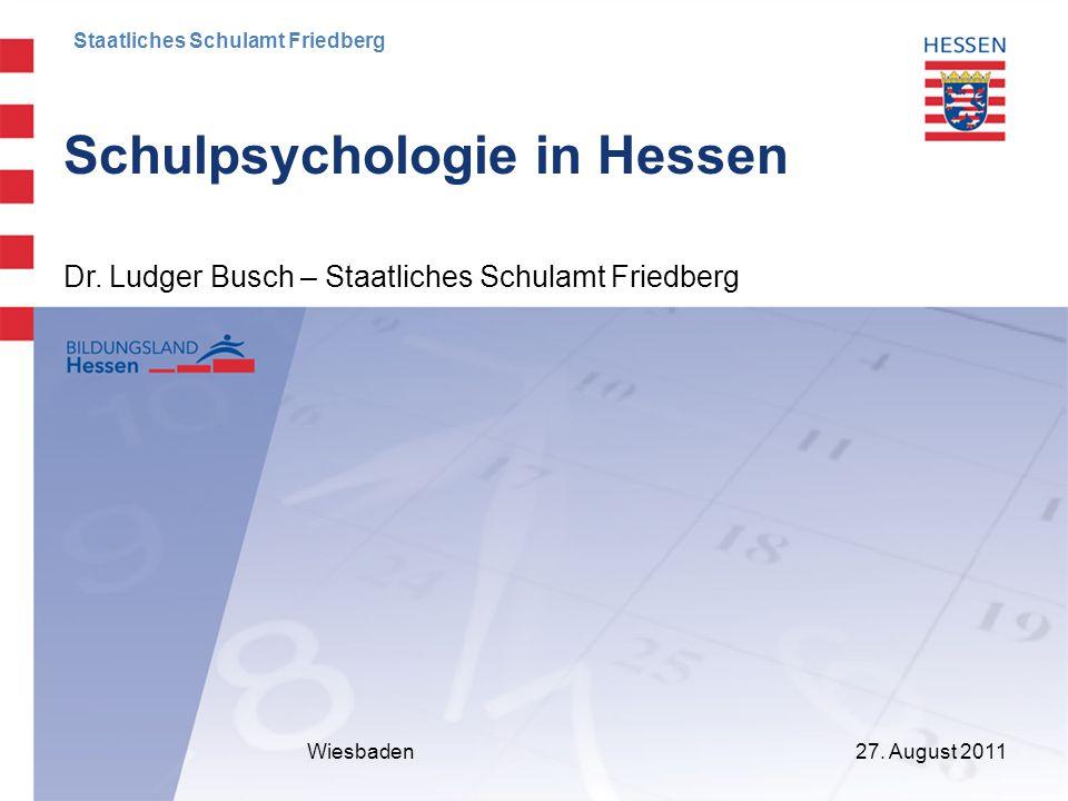 Schulpsychologie in Hessen