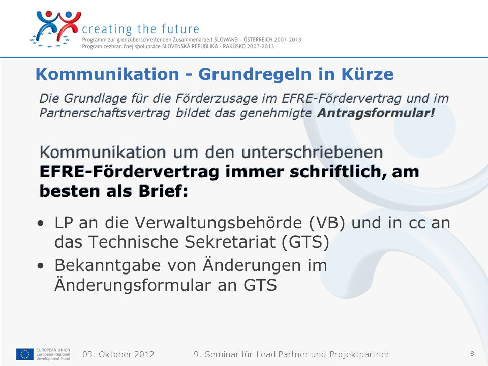 Kommunikation - Grundregeln in Kürze