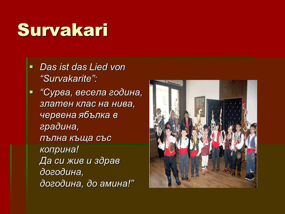 Survakari Das ist das Lied von Survakarite :