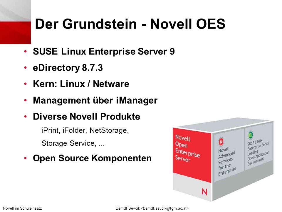 Der Grundstein - Novell OES