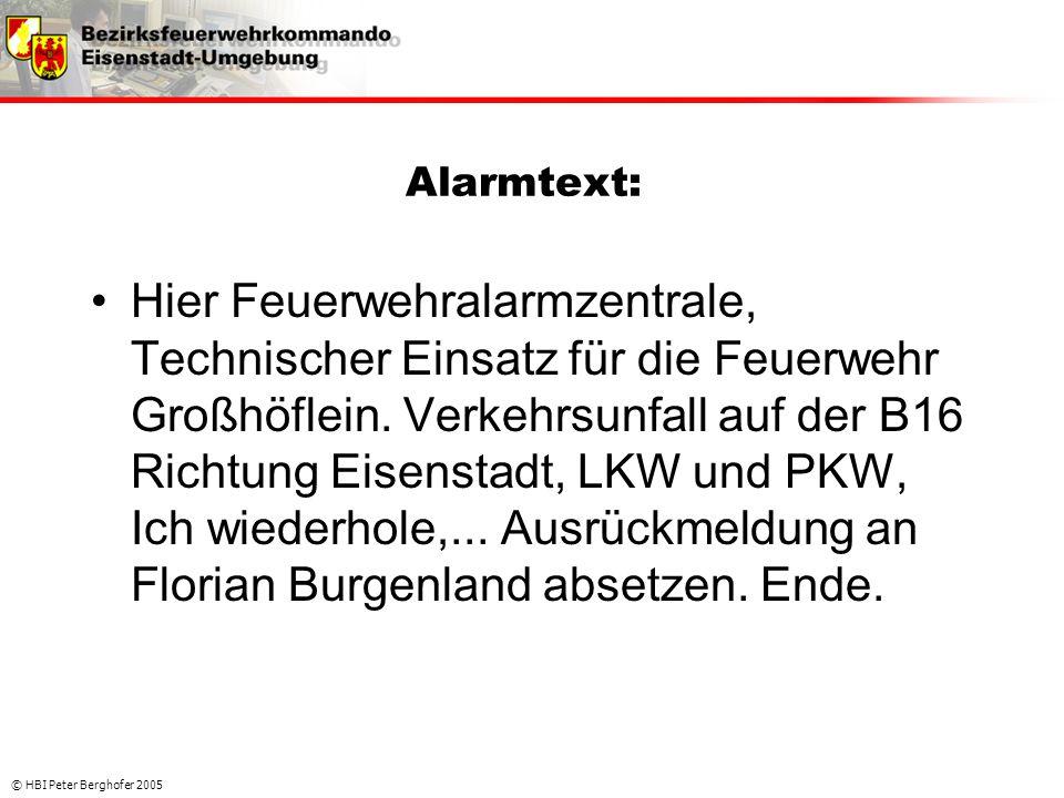 Alarmtext: