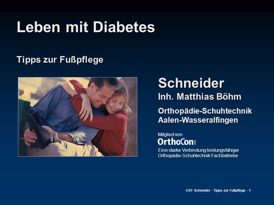 Leben mit Diabetes Tipps zur Fußpflege