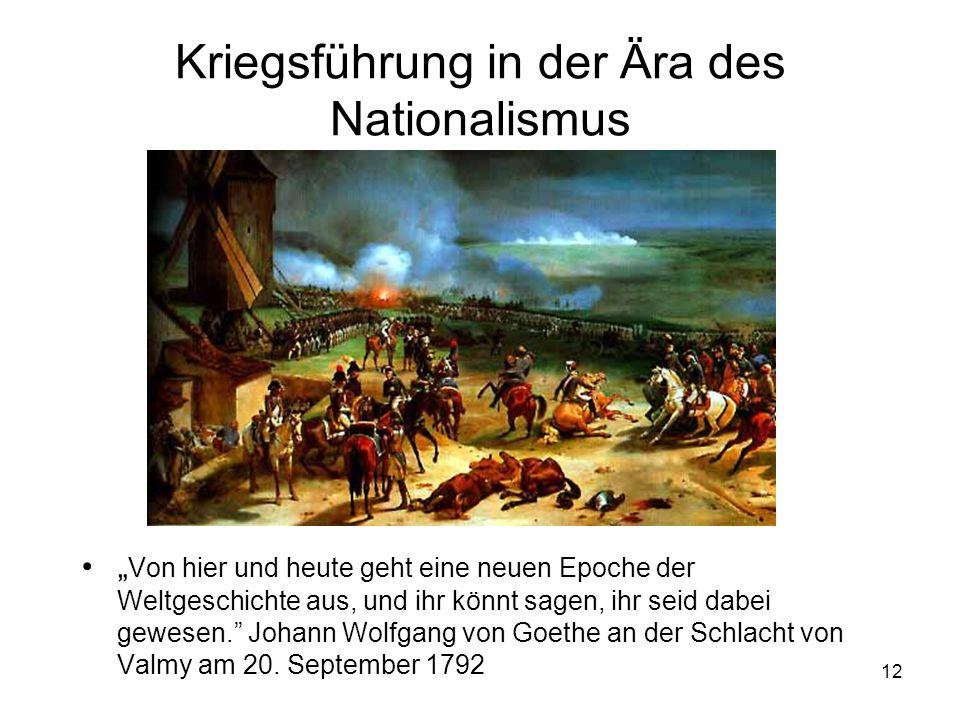 Kriegsführung in der Ära des Nationalismus