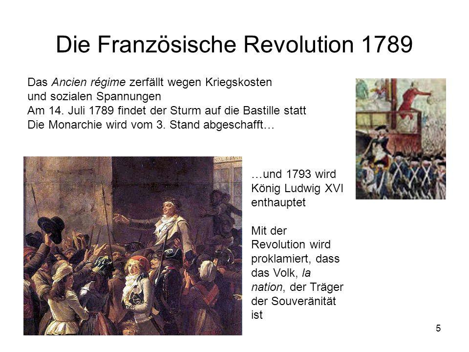 Die Französische Revolution 1789