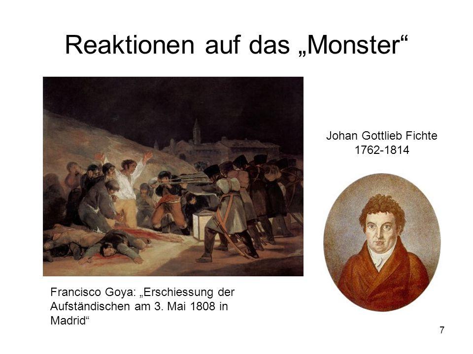 """Reaktionen auf das """"Monster"""
