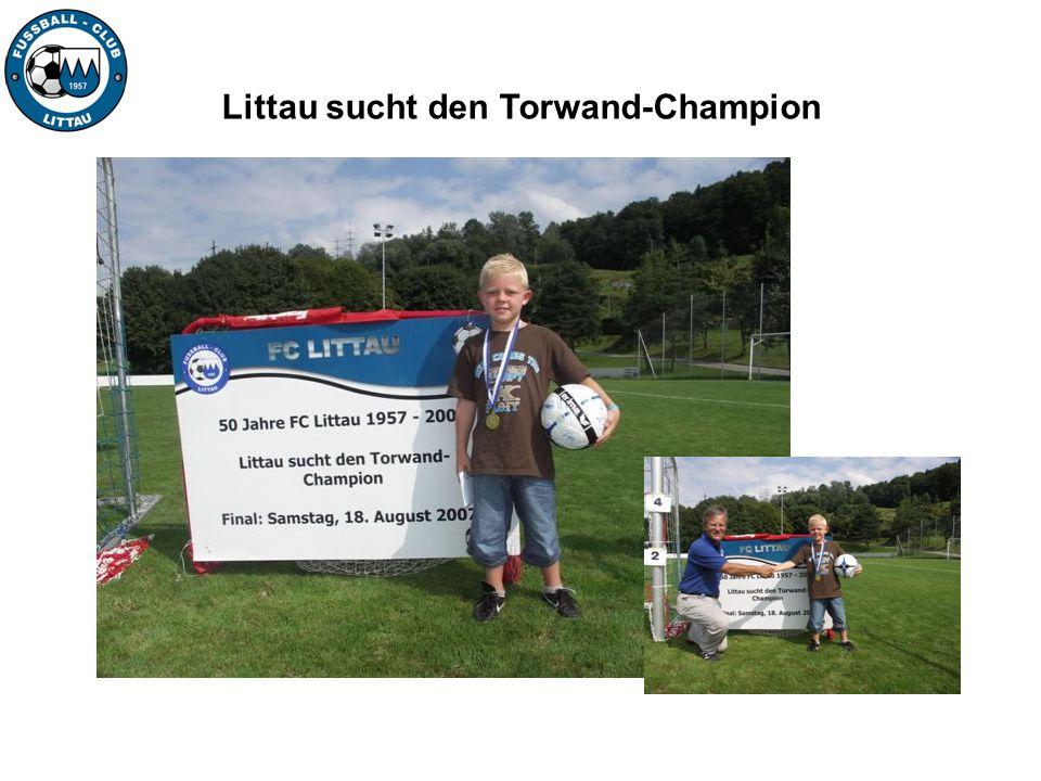 Littau sucht den Torwand-Champion