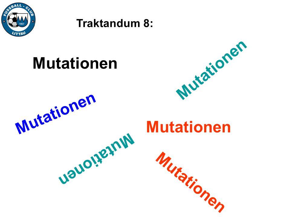 Mutationen Mutationen Mutationen Mutationen Mutationen Mutationen