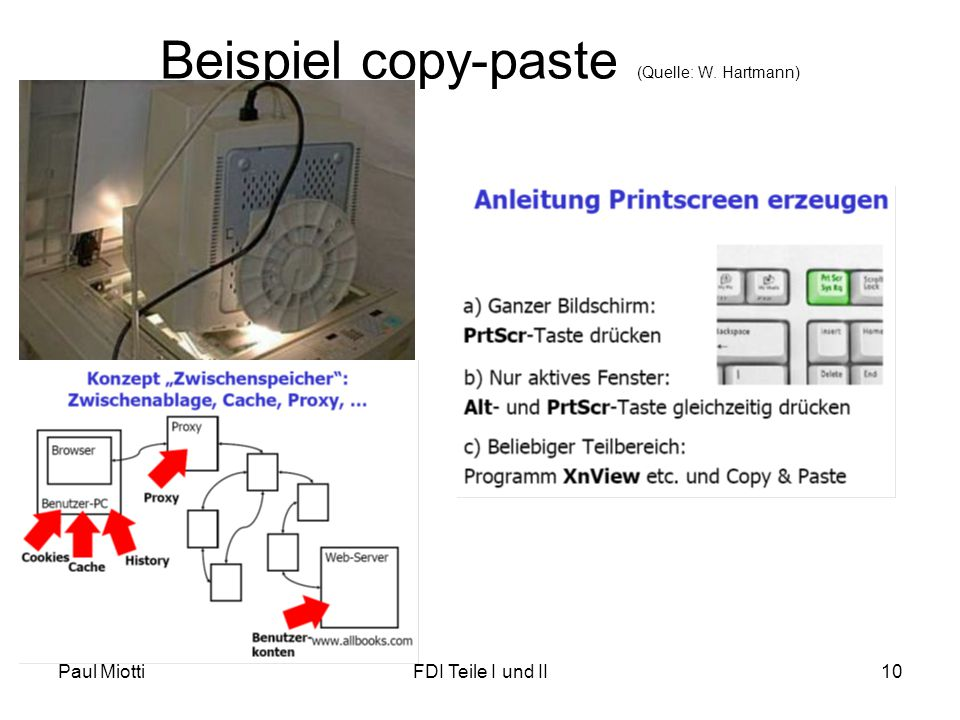 Beispiel copy-paste (Quelle: W. Hartmann)