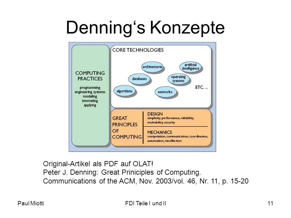 Denning's Konzepte Original-Artikel als PDF auf OLAT!
