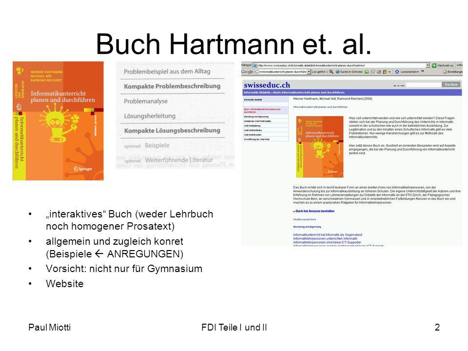 """Buch Hartmann et. al. """"interaktives Buch (weder Lehrbuch noch homogener Prosatext) allgemein und zugleich konret (Beispiele  ANREGUNGEN)"""