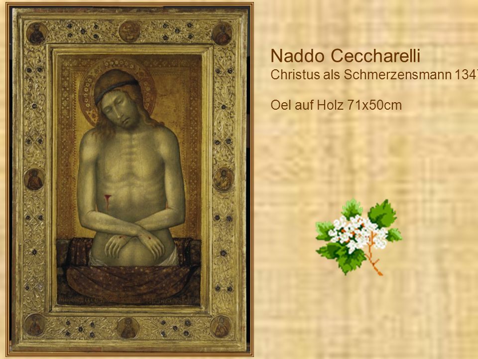 Naddo Ceccharelli Christus als Schmerzensmann 1347