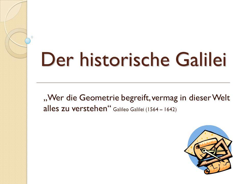 Der historische Galilei