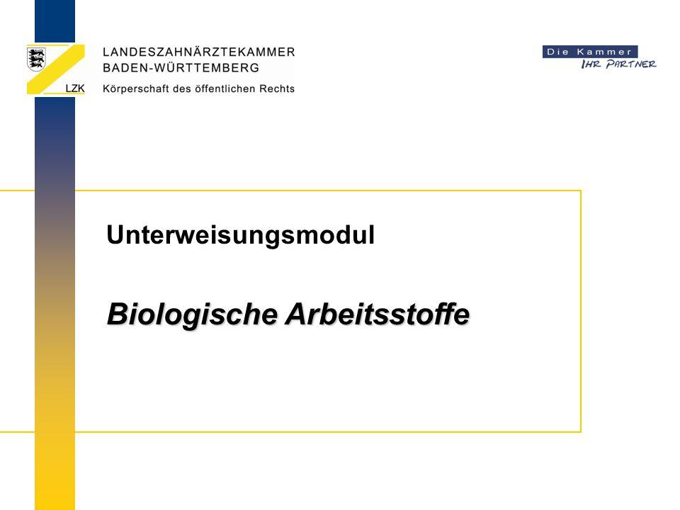 Biologische Arbeitsstoffe