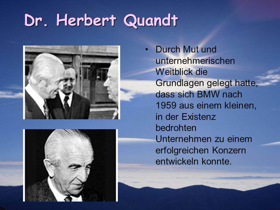 Dr. Herbert Quandt
