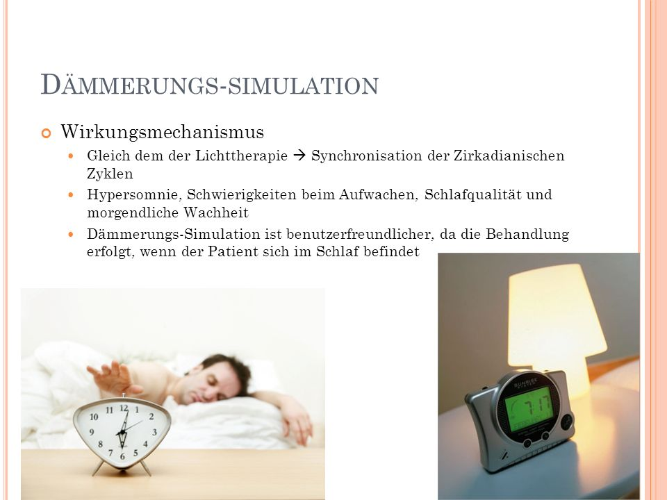 Dämmerungs-simulation