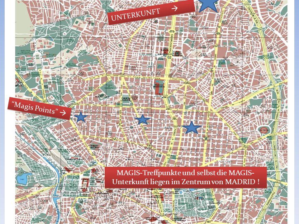 MADRID 2011 UNTERKUNFT  Magis Points 