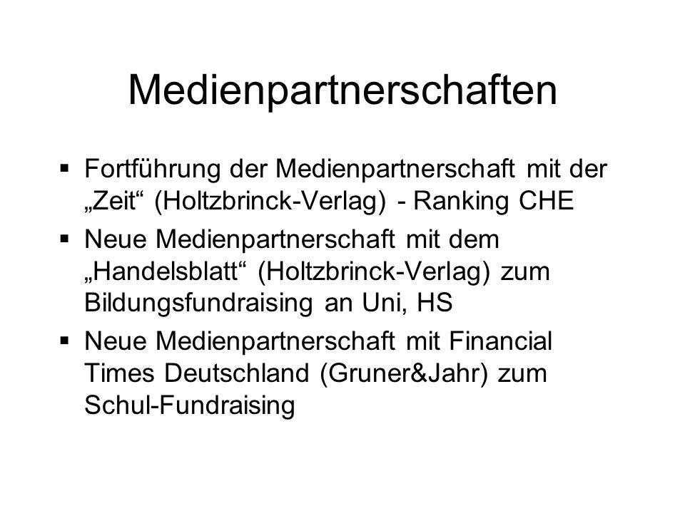 Medienpartnerschaften