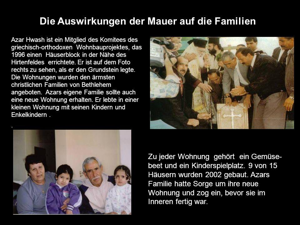 Die Auswirkungen der Mauer auf die Familien