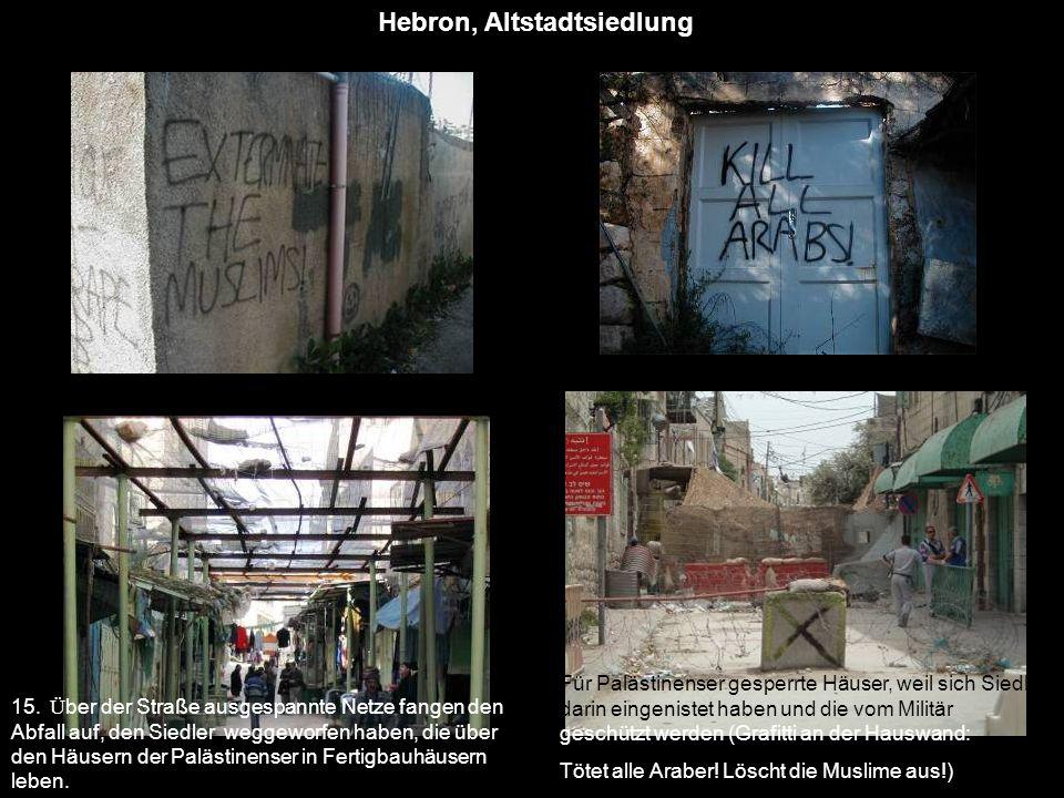 Hebron, Altstadtsiedlung
