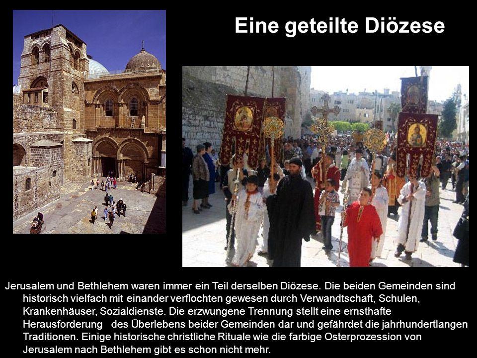 Eine geteilte Diözese
