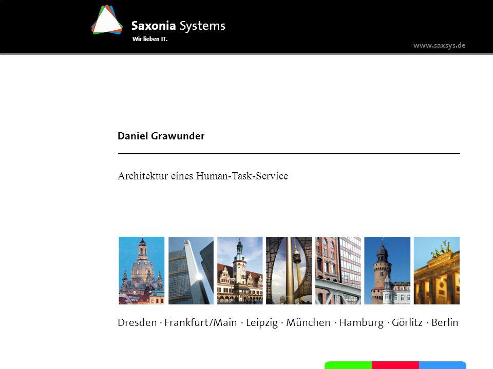 Architektur eines Human-Task-Service