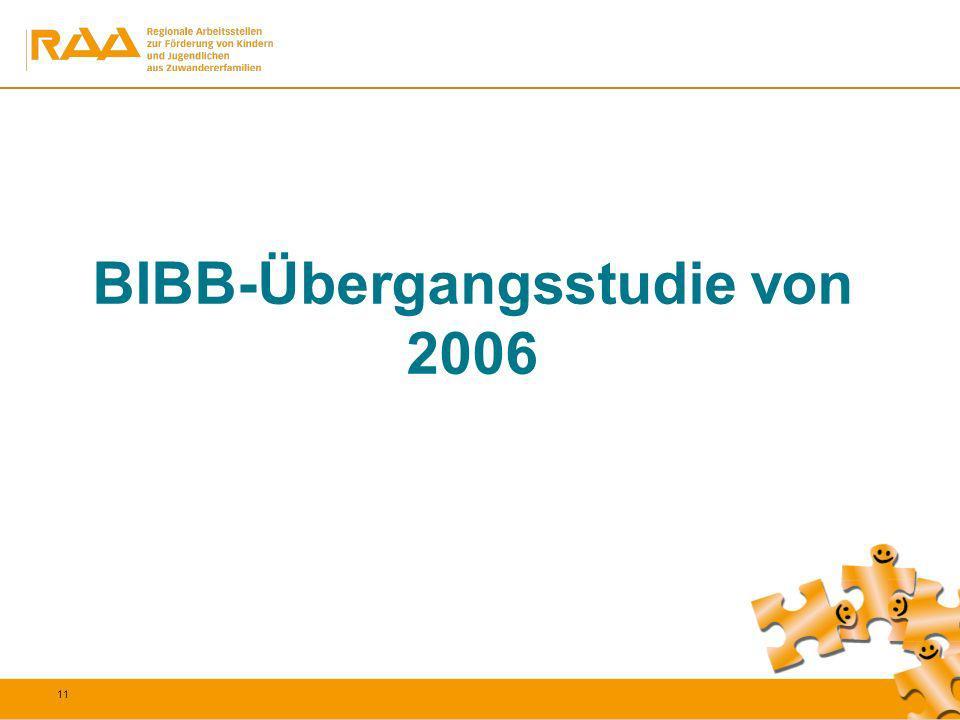 BIBB-Übergangsstudie von 2006