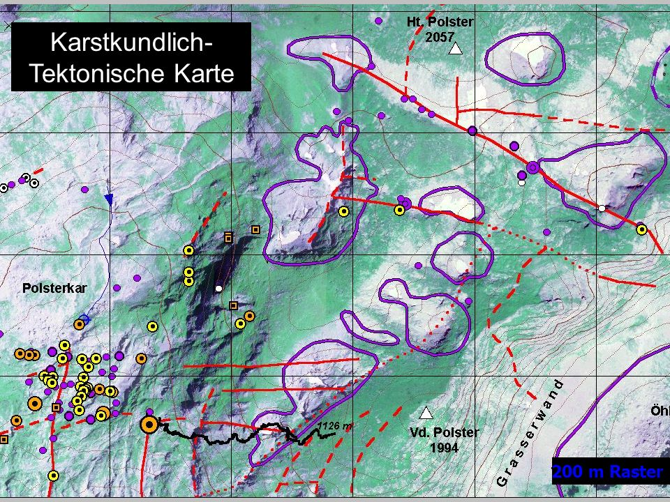 Karstkundlich- Tektonische Karte