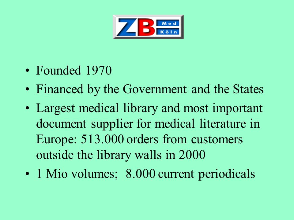 Founded 1970Financed by the Government and the States.