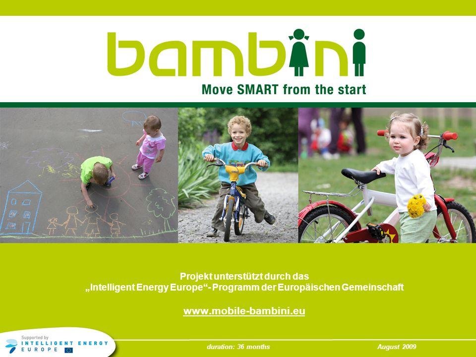 www.mobile-bambini.eu Projekt unterstützt durch das