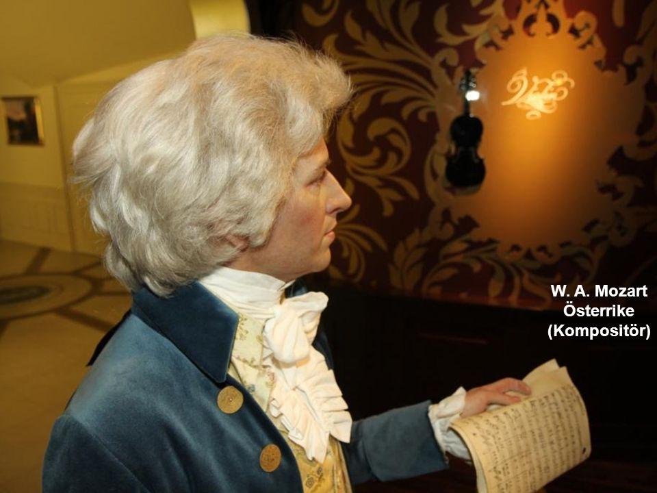 W. A. Mozart Österrike (Kompositör)