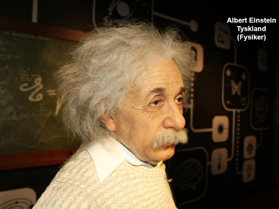Albert Einstein Tyskland (Fysiker)