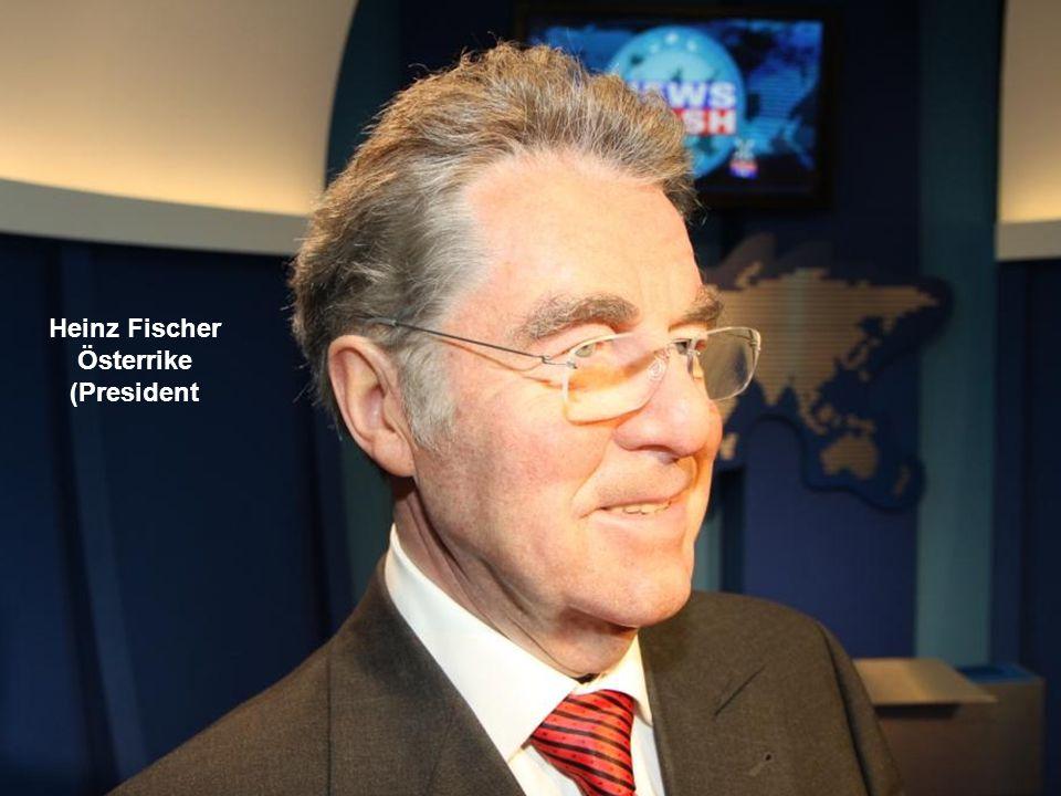 Heinz Fischer Österrike (President
