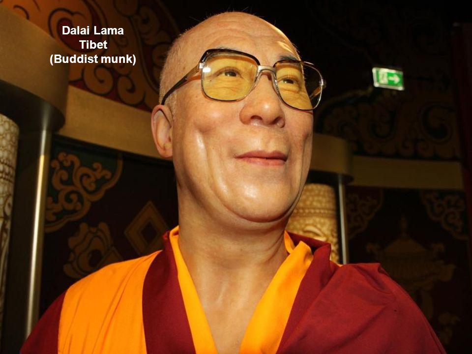 Dalai Lama Tibet (Buddist munk)
