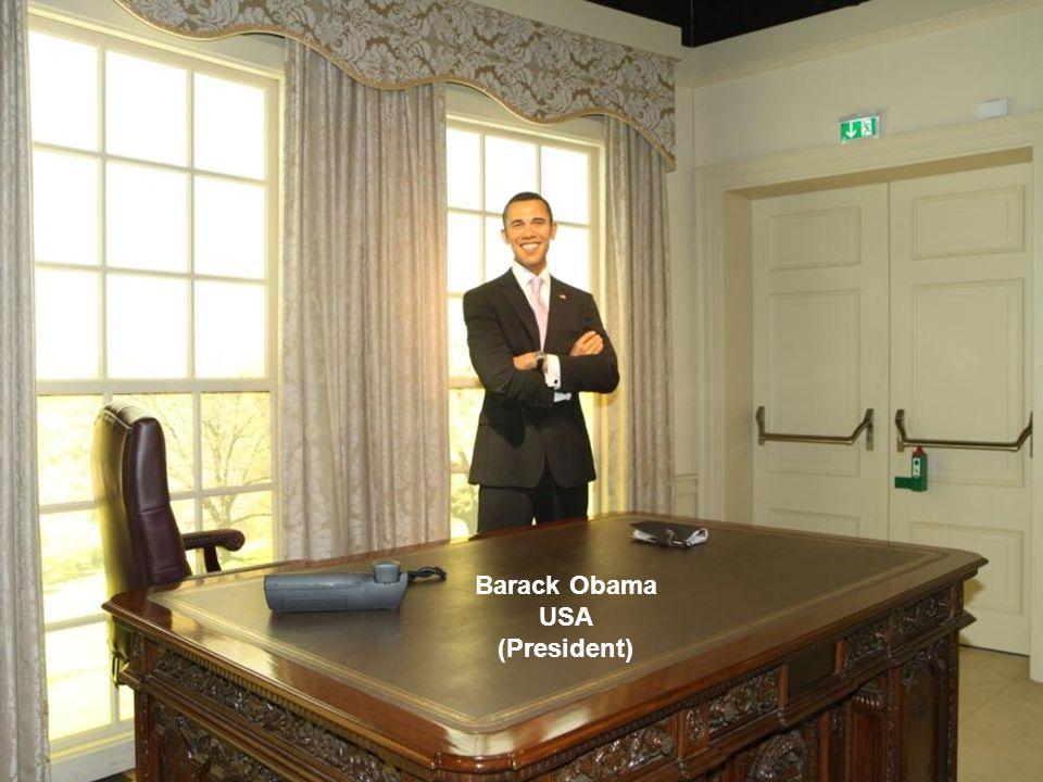 Barack Obama USA (President)
