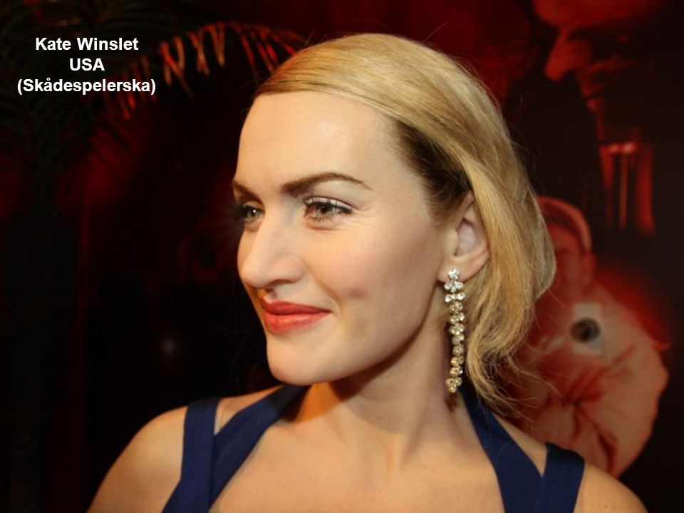 Kate Winslet USA (Skådespelerska)